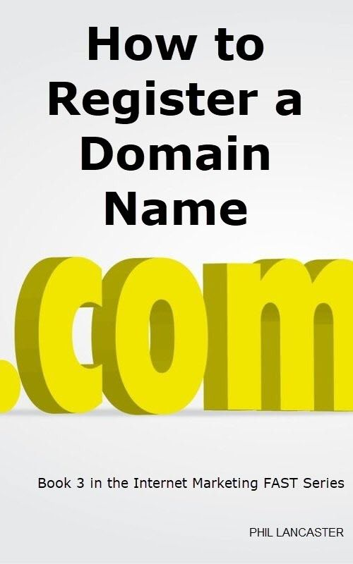 How to Register a Domain Name KDP Cover