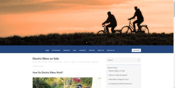 Cycling Blowout