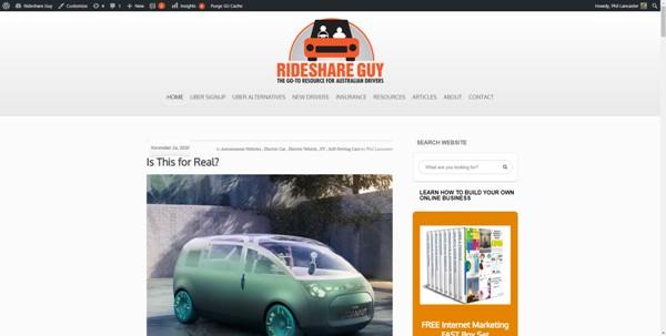 Rideshare Guy
